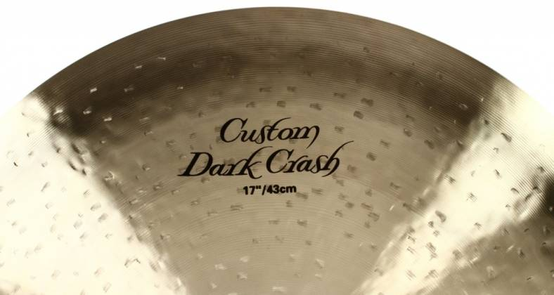 "Zildjian K0952 17"" K Series Custom Dark Crash Cymbal Product Image 5"