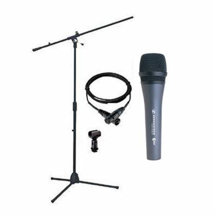 Sennheiser EPACK-e 835 Microphone Bundle (incl. boom stand, XLR cable, microphone and pouch) Product Image 3