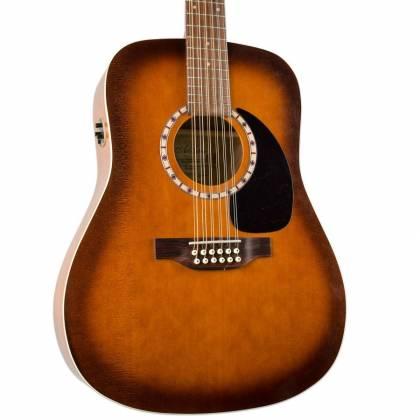 art lutherie 026555 cedar antique burst qi 12 string acoustic electric rh guitar discontinued. Black Bedroom Furniture Sets. Home Design Ideas