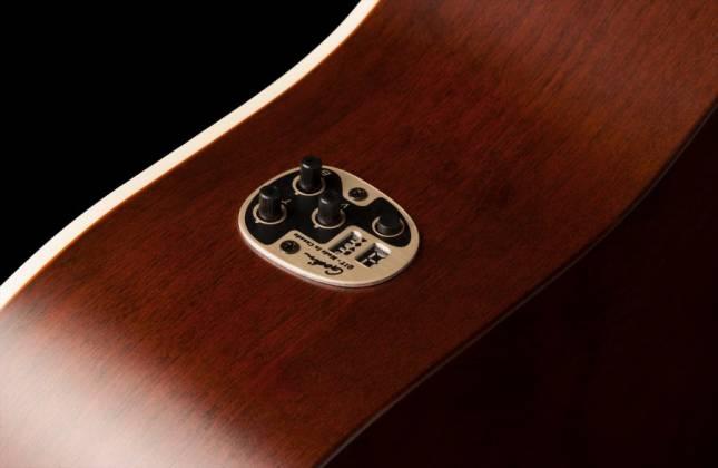Art & Lutherie 042425 Americana Bourbon Burst QIT Acoustic Electric 6 String RH Guitar Product Image 5