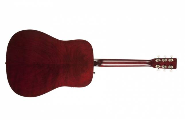Art & Lutherie 042456 Americana Tennessee Red QIT Acoustic Electric 6 String RH Guitar 042456 Product Image 3