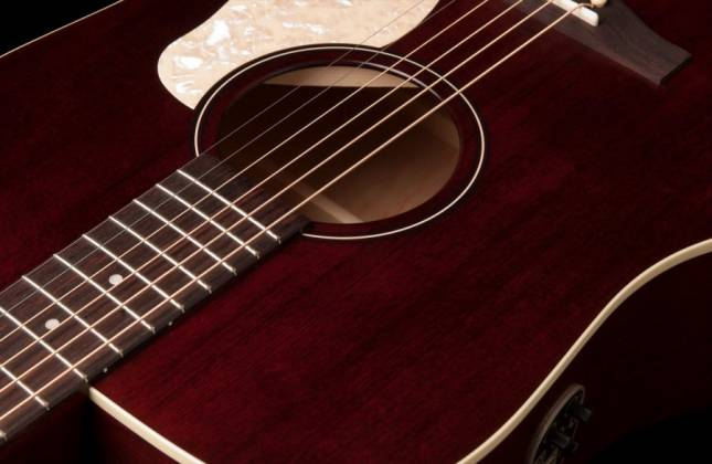 Art & Lutherie 042456 Americana Tennessee Red QIT Acoustic Electric 6 String RH Guitar 042456 Product Image 4