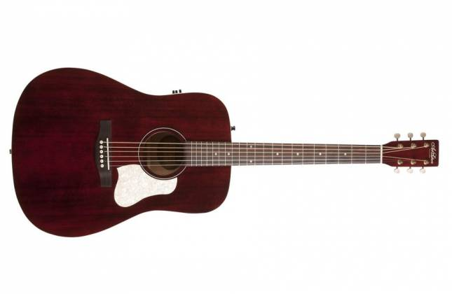 Art & Lutherie 042456 Americana Tennessee Red QIT Acoustic Electric 6 String RH Guitar 042456 Product Image 2
