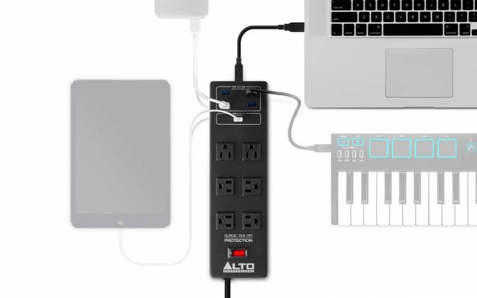 Alto ProGrade-Power Strip with Surge Protection and USB Hub – (discontinued clearance) Product Image 4