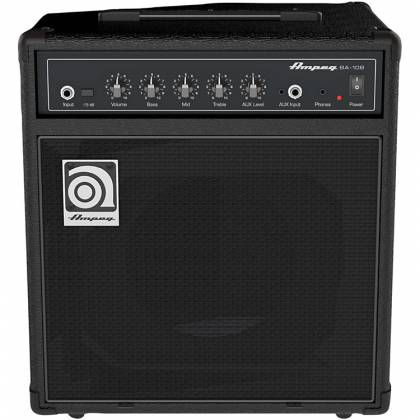 Ampeg BA-108v2 8 Inch Combo Bass Amplifier Product Image 4