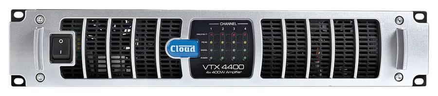 Cloud VTX4400 4 x 400W Amplifier Product Image 2