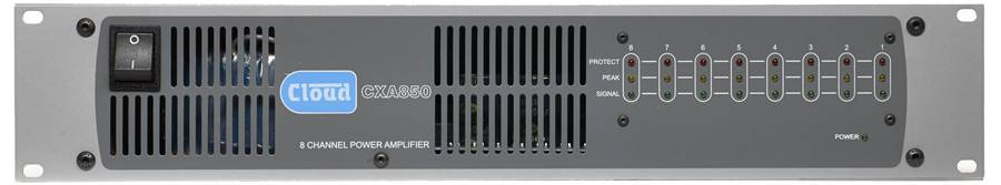 Cloud CXA850 8 x 50W Amplifier Product Image 2