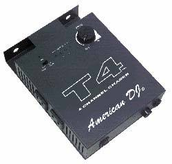 American DJ T4 Sound-To-Light Chase Controller Product Image 2