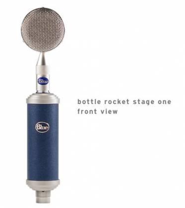 Blue Microphones Bottle RS1 Bottle Rocket Stage 1 Large Diaphragm Studio Condenser Microphone Product Image 2