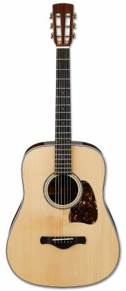 Ibanez AVD1-NT-d 6 String Artwood Vintage Acoustic Guitar with Dreadnought Body and Natural High Gloss Finish (discontinued clearance)  (Prior Year Model) Product Image 2