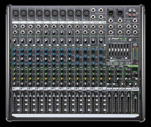 Mackie ProFX16v2 16-Channel 4 Bus Professional Effects Mixer with USB Product Image 2