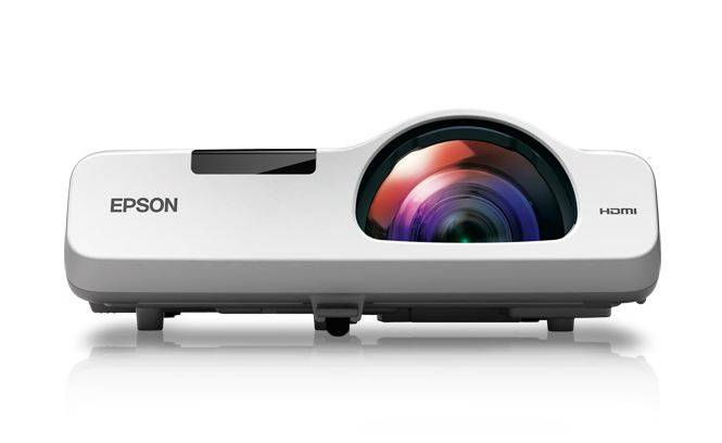 Epson V11H673020 PowerLite 530 XGA 3LCD 3200 Lumens Short Throw Projector Product Image 2