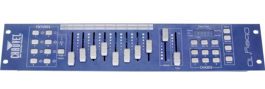 Chauvet DJ Obey10 - 128 Channel DMX Controller Product Image 3