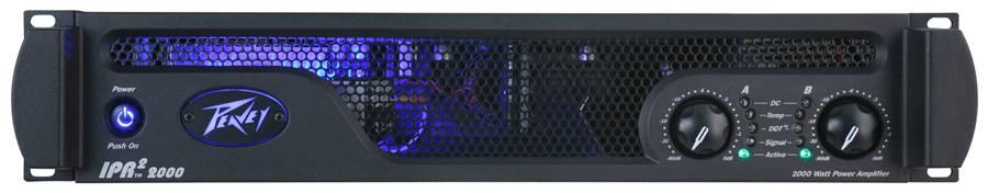 Peavey 03609460 IPR2 2000 2000W Power Amp Product Image 2