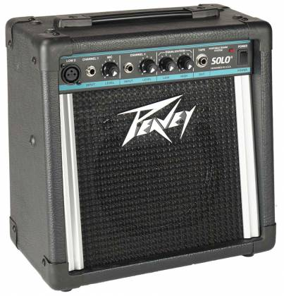 Peavey 00476100 SOLOPORTABLEPA Solo Battery Powered PA System Product Image 2