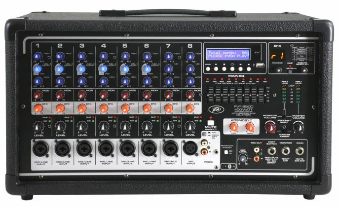 Peavey 03601860 PVI 8500 Bluetooth Enabled All in One Powered Mixer Product Image 2