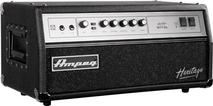 Ampeg HSVTCL Heritage All Tube 300W Bass Head  Product Image 2