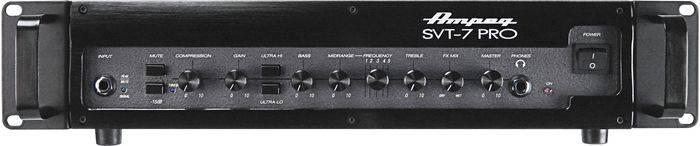 Ampeg SVT7PRO 1000W Class D Bass Amp Head Product Image 2