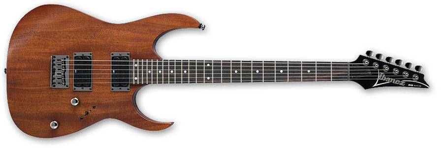 Ibanez RG421-MOL-d 6 String Solidbody Electric Guitar in Mahogany Oil (discontinued clearance) Product Image 2