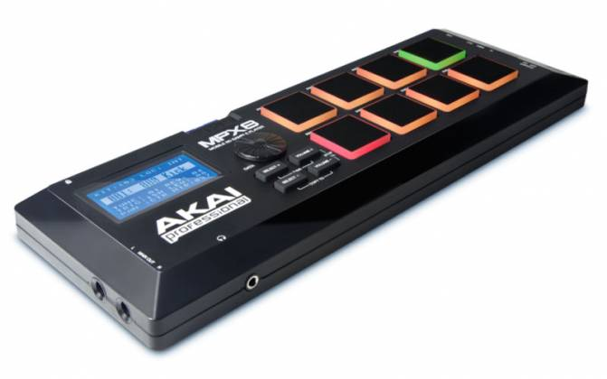 Akai MPX8X110 Mobile SD Sample Player Drum Pad Product Image 2