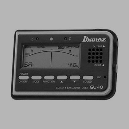Ibanez GU40-d Tuner for Guitar and Bass with speaker and microphone (discontinued clearance) Product Image 2