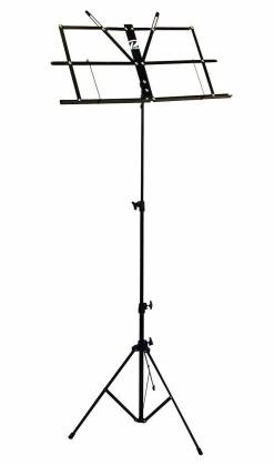 Profile MS033BP Sheet Music Stand With Bag in  Black Product Image 2