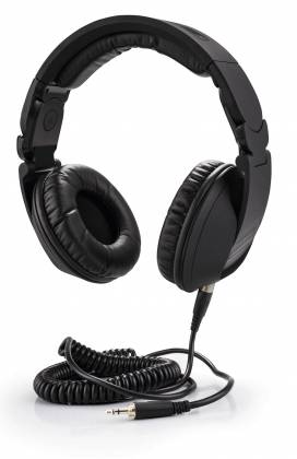 Reloop RHP-20-K Professional DJ Headphones with Rubber Paint Finish Knight Black rhp-20-k Product Image
