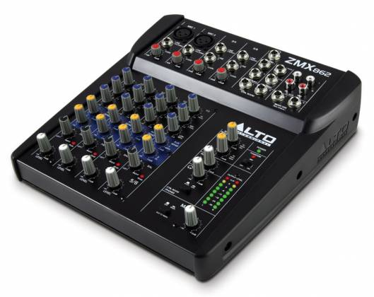 Alto ZMX862 6 Channel Compact Mixer Product Image 2