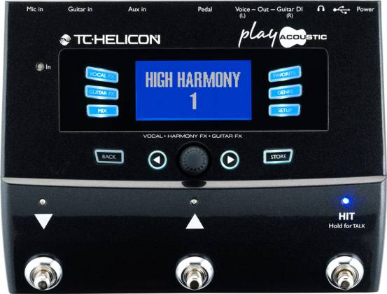 TC Helicon Play Acoustic Effects Processor Product Image 3