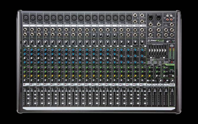 Mackie ProFX22v2 22-Channel 4 Bus Professional Effects Mixer with USB Product Image 3