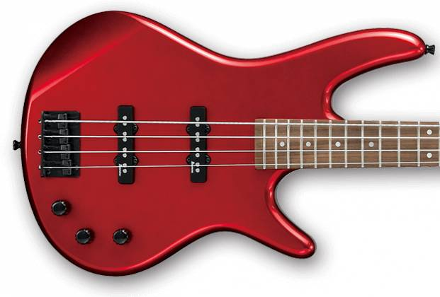 Ibanez GSR320-CA-d GIO Series 4 String Solid Body Bass in Candy Apple (discontinued clearance)  (Prior Year Model) Product Image 3