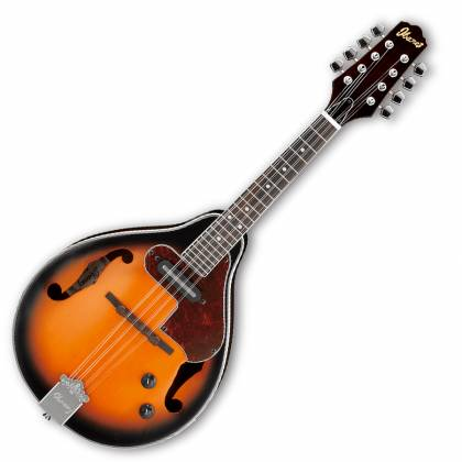 Ibanez M510E-BS-d Electric Acoustic Mandolin in Brown Sunburst High Gloss (discontinued clearance)  (Prior Year Model) Product Image 2