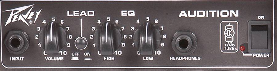Peavey 00584790 AUDITION TransTube Combo Amplifier 7 watts into 8 ohms Product Image 3