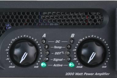 Peavey 03609460 IPR2 2000 2000W Power Amp Product Image 3