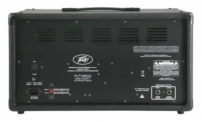 Peavey 03601860 PVI 8500 Bluetooth Enabled All in One Powered Mixer Product Image 3