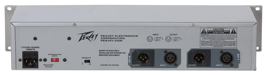 Peavey 03615360 PV 231EQ Dual 31 Band Equalizer Product Image 3