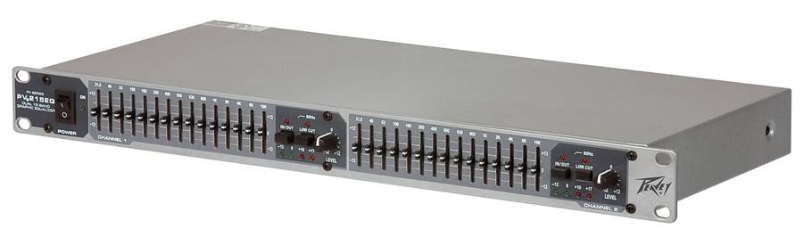 Peavey 03615350 PV 215EQ Dual Band Graphic Equalizer Product Image 3