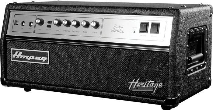 Ampeg HSVTCL Heritage All Tube 300W Bass Head  Product Image 3