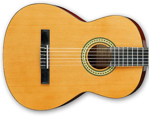 Ibanez GA3-AM-d 6 String Classical Acoustic Guitar in Amber Finish Product Image 3