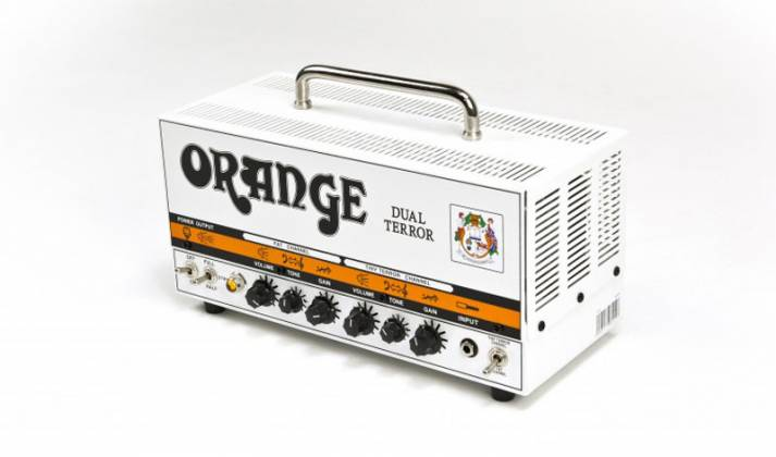 Orange DT30H Dual Terror 30W Twin Channel Guitar Amp Head Product Image 5