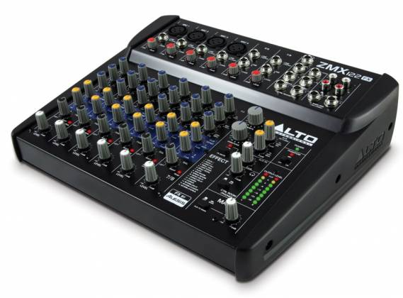 Alto ZMX122FX 8 Channel Compact Mixer with Effects Product Image 3