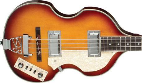 Jay Turser JTB-2B-VS Beatle Bass 4 String RH Acoustic Electric Bass Guitar Product Image 4