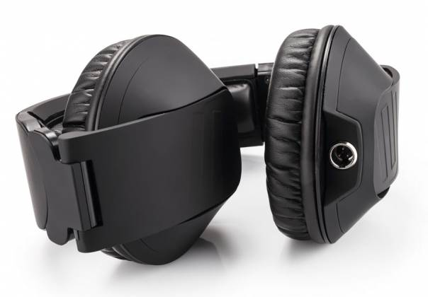Reloop RHP-20-K Professional DJ Headphones with Rubber Paint Finish Knight Black rhp-20-k Product Image 2