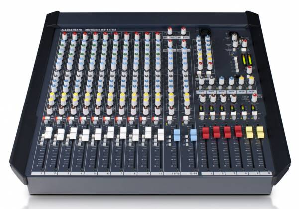 Allen & Heath W4-14 4 2 Mix Wizard Console with 10 Channel Inputs Product Image 6