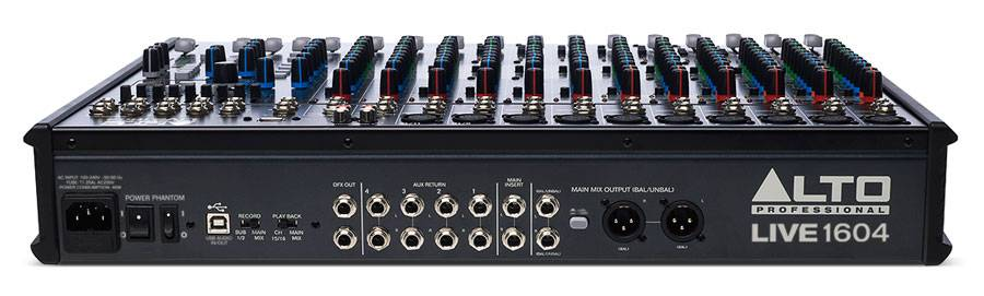 Alto Live1604 Professional 16 Channel 4 Bus Mixer Product Image 3