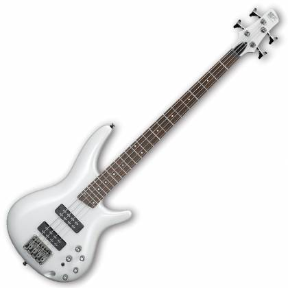 Ibanez SR300E-PW-d SR Series 4 String Bass Guitar in Pearl White (discontinued clearance)  (Prior Year Model) Product Image 2