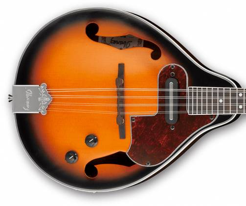 Ibanez M510E-BS-d Electric Acoustic Mandolin in Brown Sunburst High Gloss (discontinued clearance)  (Prior Year Model) Product Image 6