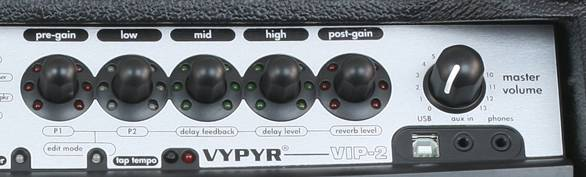 Peavey 03608080 Vypyr VIP2 40W Variable Instrument Performance Amplifier  Product Image 4