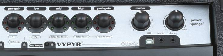 Peavey 03608160 Vypyr VIP3 100W Variable Instrument Performance Amplifier Product Image 4