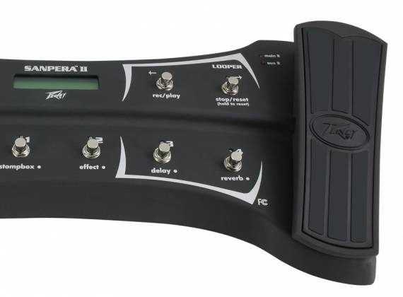 Peavey 03017550 Sanpera II (II) Expression Footswitch Pedal Product Image 4
